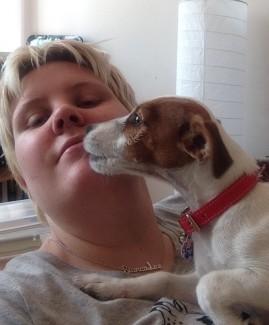 Dog Kissing