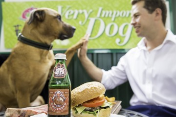Food and Drink at Dog Cafe