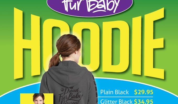 Hoodie Proud FurBaby Pawrent Promo