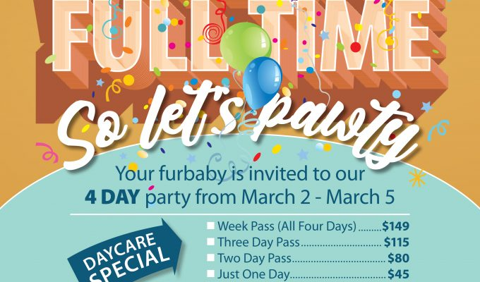 FurBaby Daycare Open Every Weekday
